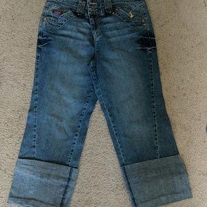 Baby Phat Capri Jeans